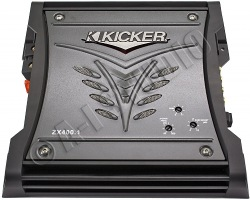 kicker zx400.1 (08zx400.1) subwoofer mono amplifier