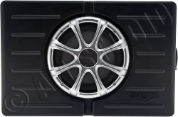 "kicker skm10 (09skm10) 10"" marine enclosed subwoofer"