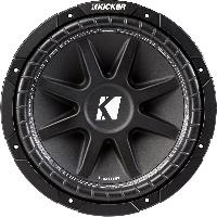 "kicker c124 (43c124) 12"" comp series subwoofer"