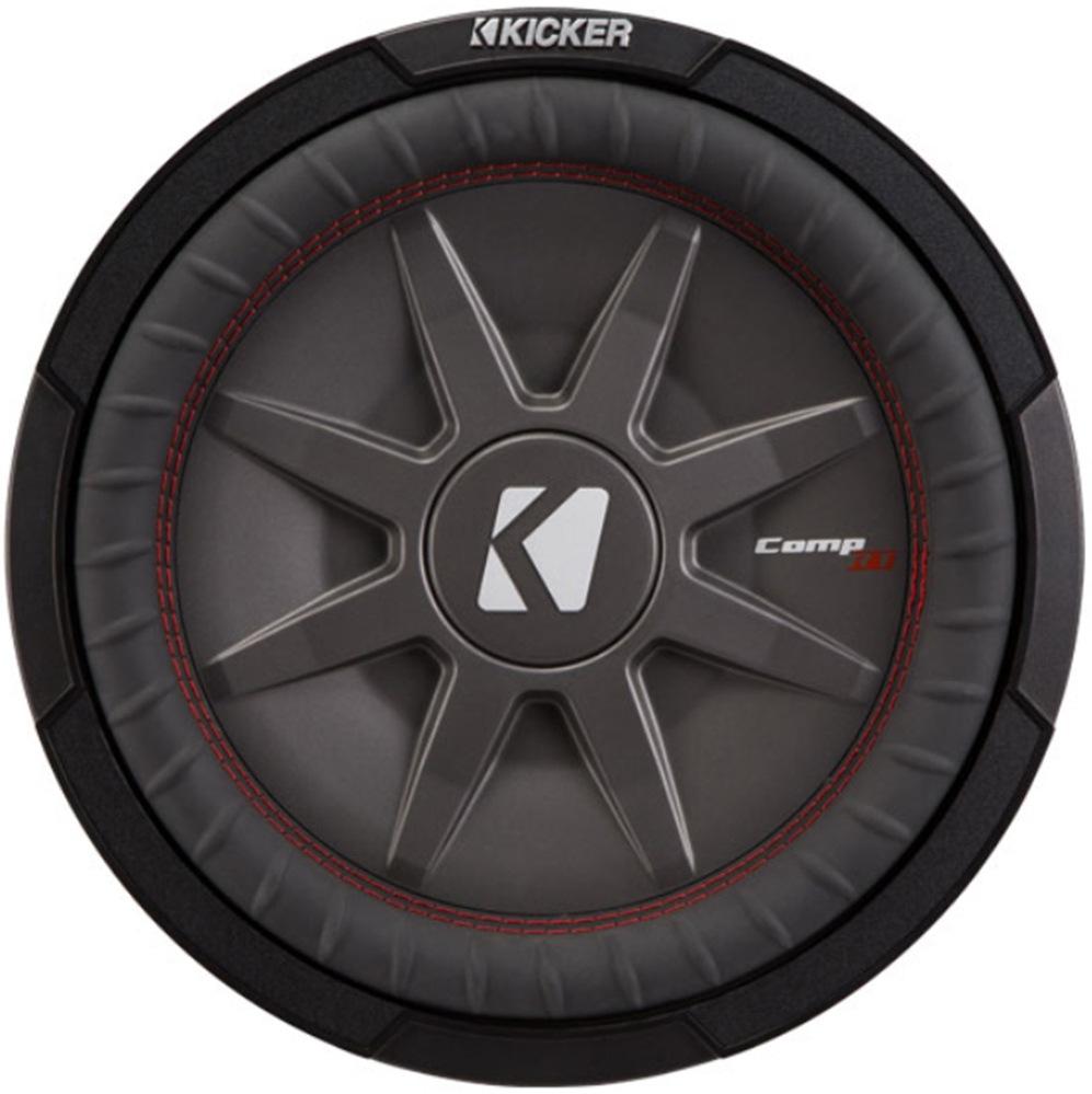 "Kicker 43CWRT122 COMPRT12 1000W 12/"" DVC 2-Ohm Shallow Car Subwoofer Sub CWRT12-2"