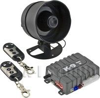 omega k9 150d la car alarm 1 way security keyless system 2 remote rh ebay com Manual Alarm Poster Fire Alarm Manual