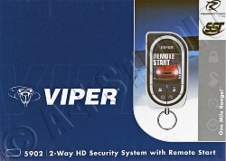 viper 5902 2-way security w/ remote start