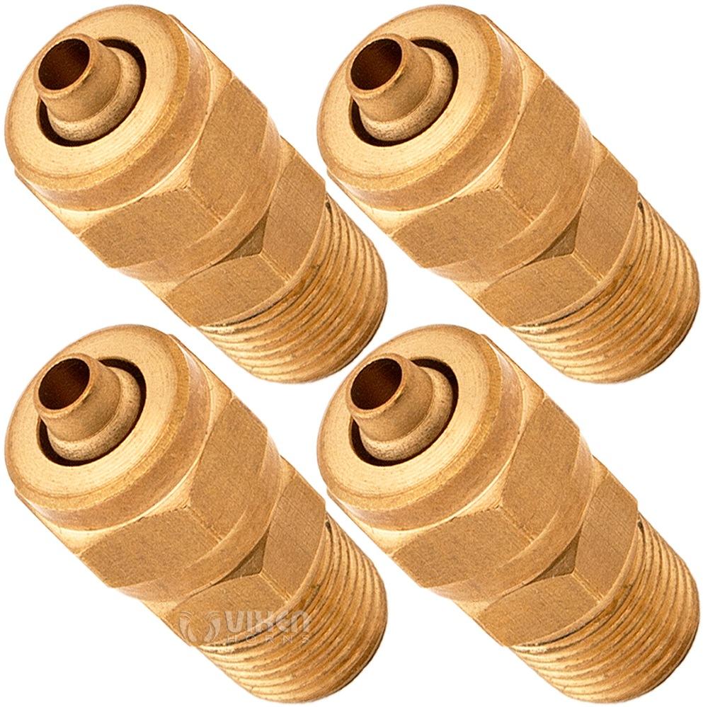 Vixen Horns Y Barbed Plastic Joiner//Splitter Connector for 1//4 ID Hoses VXA7316