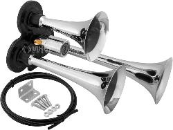 vixen horns vxh3311c triple trumpet train air horn